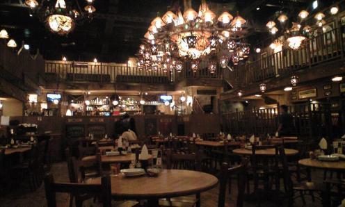 Nice decor, cowboy themed, Zest in Ebisu.