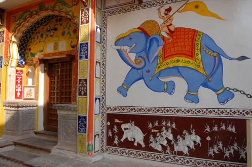 Wall murals in Bundi